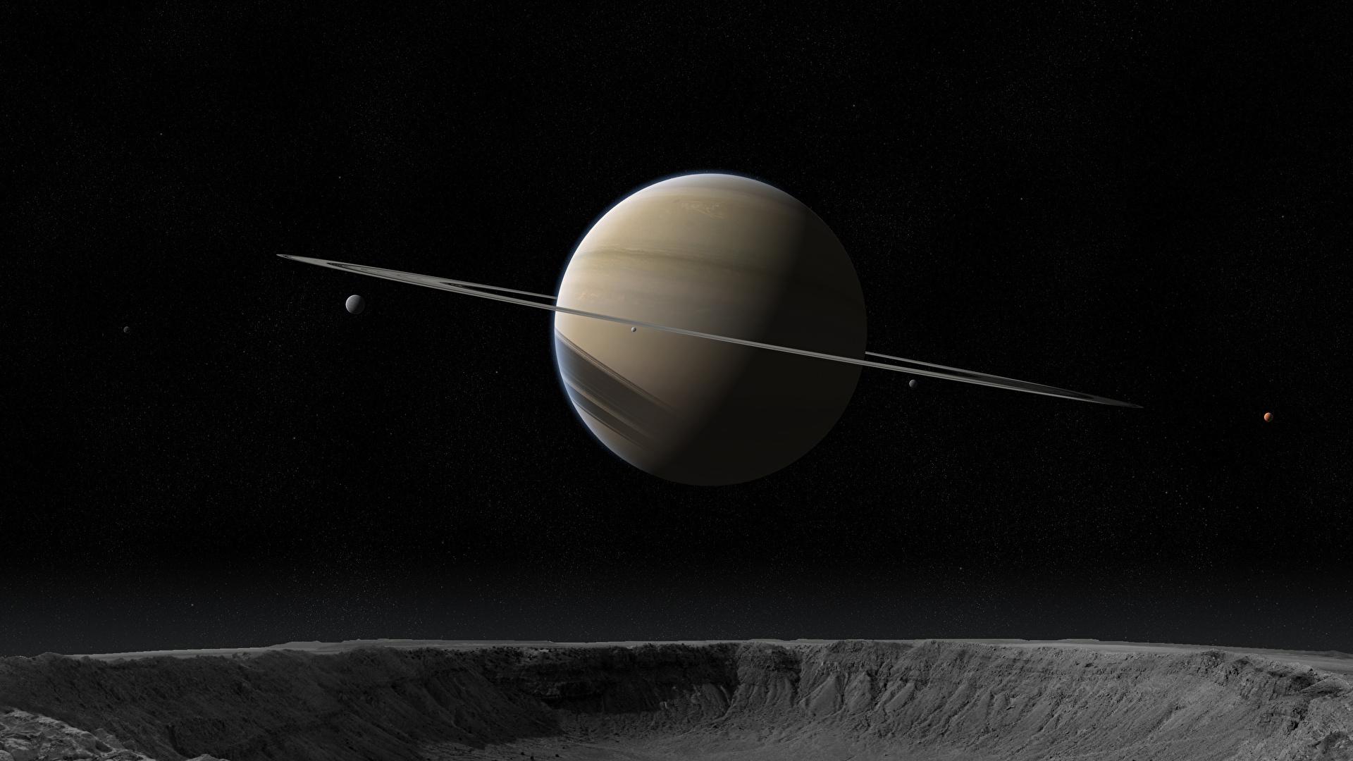 壁紙 19x1080 惑星 土星 環 天体 宇宙空間 3dグラフィックス ダウンロード 写真