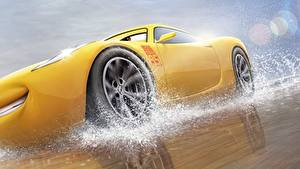 Pictures Cars 3 Yellow