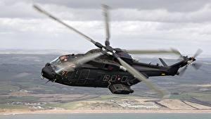 Fotos Hubschrauber Flug Caesar, AW-101, HH-101A Luftfahrt