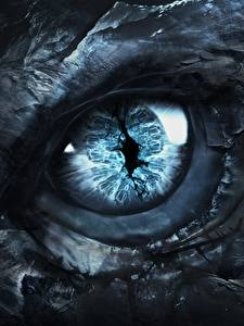 Fotos Augen Drachen Hautnah Game of Thrones Fantasy Film