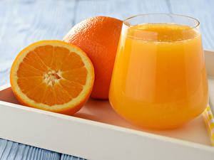 Bilder Fruchtsaft Apfelsine Trinkglas Lebensmittel