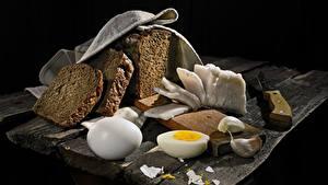 Hintergrundbilder Brot Knoblauch Salo - Lebensmittel Ei
