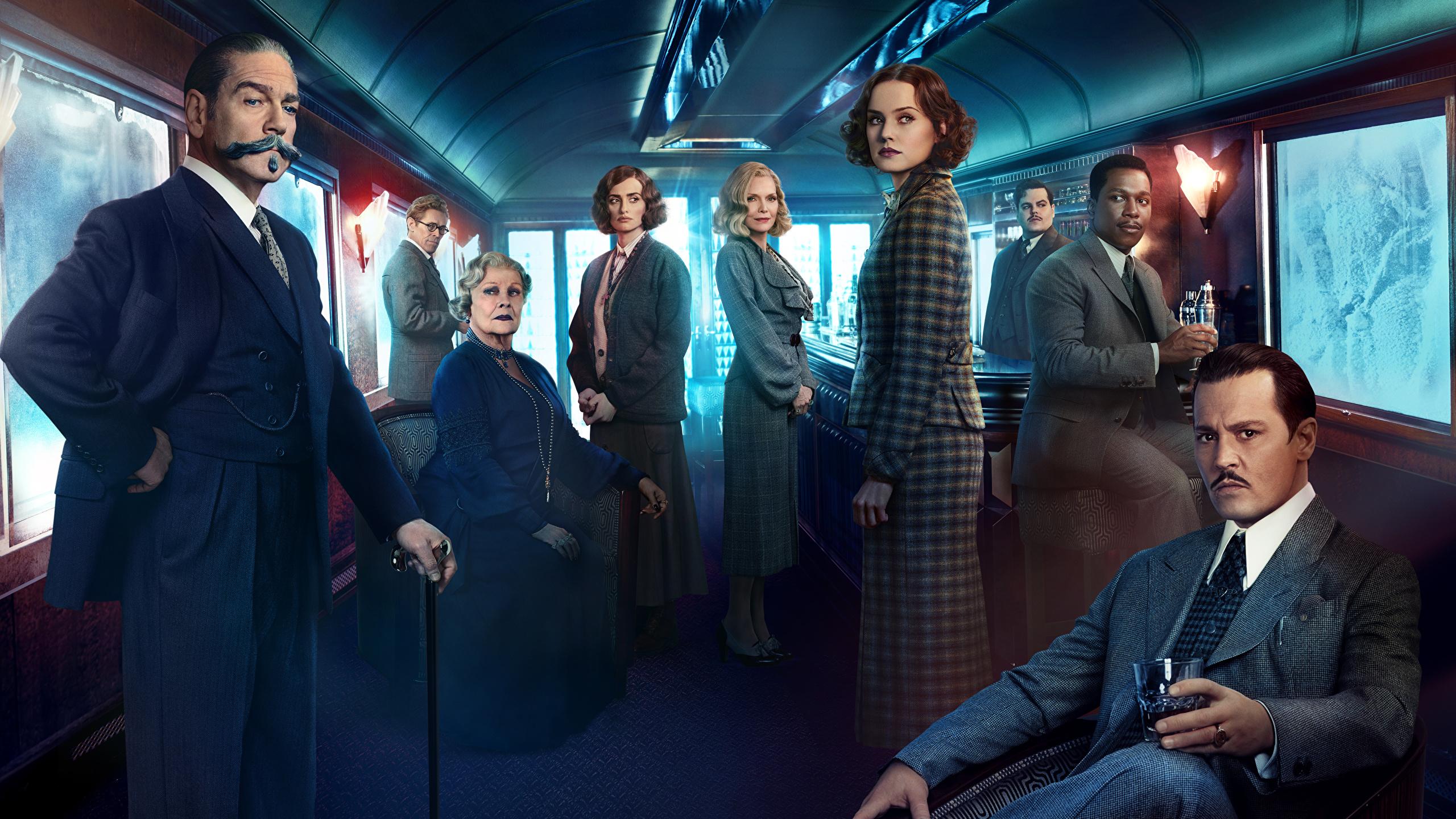 Image Murder On The Orient Express 2017 Men Kenneth 2560x1440