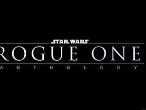 Bilder Rogue One: A Star Wars Story Schwarzer Hintergrund Text Anthology Film