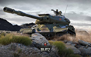 Bilder World of Tanks Panzer Russische Blitz. IS-4 Spiele