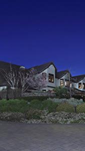 Hintergrundbilder Vereinigte Staaten Gebäude Herrenhaus Strauch Nacht Trigo Trail Trabuco Canyon Städte