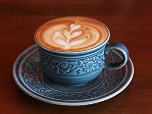 Bilder Getränke Kaffee Cappuccino Bretter Tasse das Essen