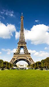 Fondos de Pantalla Francia Parque Torre Eiffel París Ciudades