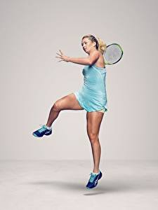 Fotos Tennis Bein American WTA CoCo Vandeweghe Mädchens