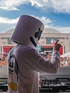 Bilder DJ Konzert EDM Marshmello