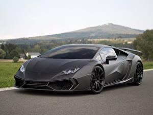 Hintergrundbilder Lamborghini Graue Mansory Huracan 2016 Torofeo 1250 hp auto
