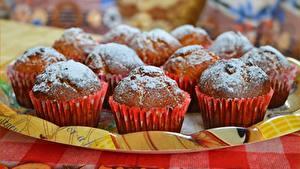 Bilder Keks Puderzucker Lebensmittel