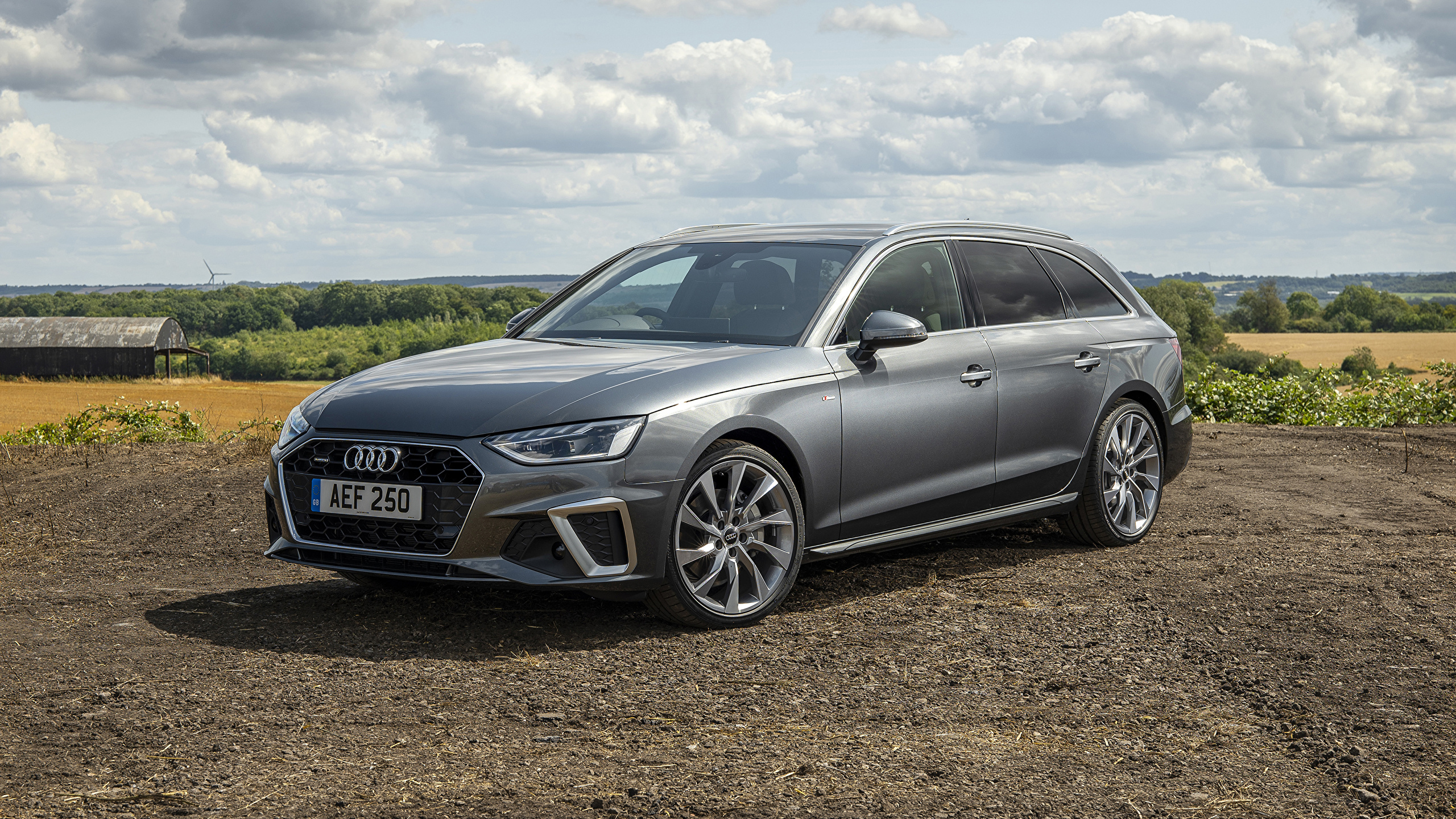 Photo Audi Estate Car 2019 A4 Avant 40 Tdi S Line Quattro 2560x1440