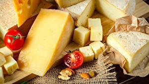 Hintergrundbilder Käse Viel Tomate das Essen