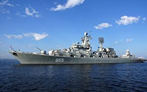 Picture Ships Russian Slava-class cruiser Project 1164 Atlant Army