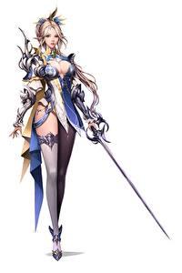 Hintergrundbilder Krieger Weißer hintergrund Schwert Brust Bein Nylonstrumpf Hübsch jangwon park Fantasy Mädchens