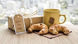 Bilder Croissant Becher Geschenke Love you DAD