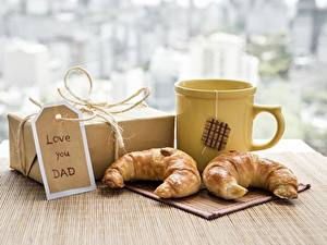 Bilder Croissant Becher Geschenke Love you DAD