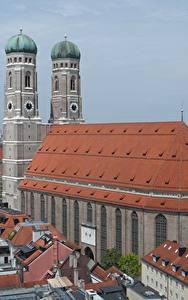 Hintergrundbilder Gebäude Kirche München Deutschland Denkmal Kathedrale Türme Bayern Frauenkirche Cathedral Städte