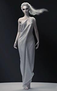 Bilder League of Legends Kleid Diana Spiele Mädchens