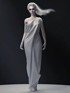 Bilder LOL Kleid Diana Spiele Mädchens