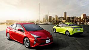 Fotos Toyota Zwei Hybrid Autos Prius auto