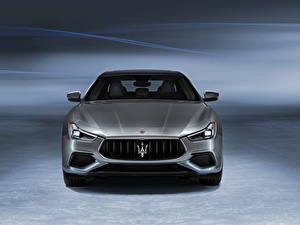 Picture Maserati Front Grey Metallic Ghibli GranSport Hybrid, M157, 2020 Cars