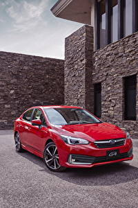 Fotos Subaru Rot Metallisch 2019-20 Impreza G4 auto