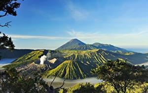 Fotos Indonesien Gebirge Landschaftsfotografie Vulkane Mount Bromo Surabaya