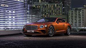 Picture Bentley Brown Continental auto