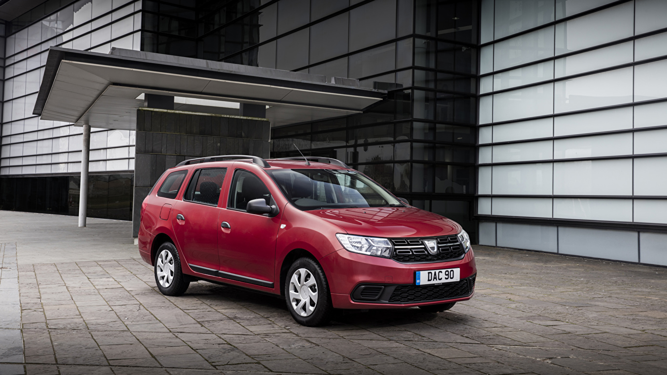 Fondos De Pantalla 1366x768 Dacia 2017 Logan Mcv Burdeos