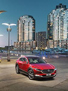 Bilder Mazda Rot Metallisch 2019-20 CX-30 Autos