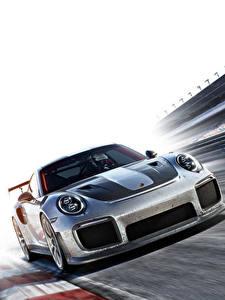 Hintergrundbilder Porsche Forza Motorsport 7 Metallisch Spiele