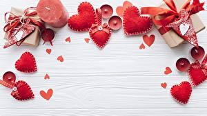 Hintergrundbilder Kerzen Valentinstag Herz Rot Bretter Vorlage Grußkarte