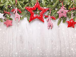 Hintergrundbilder Neujahr Hirsche Ast Schnee Kleine Sterne