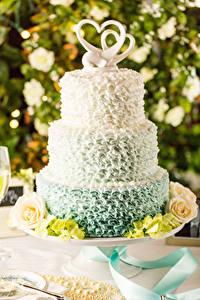 Hintergrundbilder Süßigkeiten Torte Rosen Design Herz