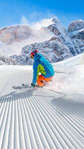 Image Winter Skiing Snow Uniform Motion Sport