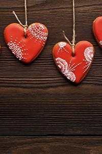 Bilder Kekse Valentinstag Herz Vorlage Grußkarte