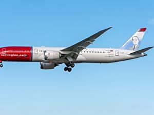 Fotos Boeing Flugzeuge Verkehrsflugzeug Seitlich 787-9, Dreamliner