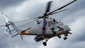 Bilder Hubschrauber Russische Mi-35
