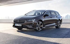 Fotos Opel Braune Metallisch 2020 Insignia Sports Tourer automobil