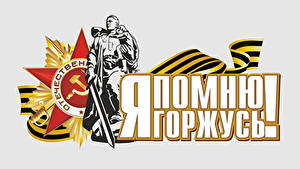 Hintergrundbilder Tag des Sieges 9 Mai Vektorgrafik Feiertage Text Russische
