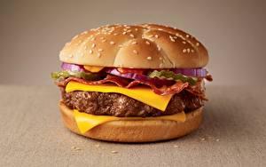 Fotos Burger Großansicht Käse