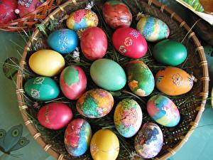 Hintergrundbilder Feiertage Ostern Viel Ei
