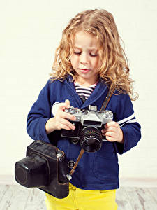 Bilder Kleine Mädchen Fotoapparat