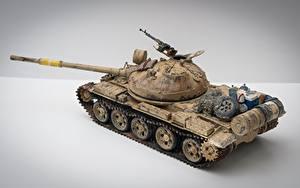 Hintergrundbilder Panzer Spielzeuge Russisches T-62 Iraqi Militär