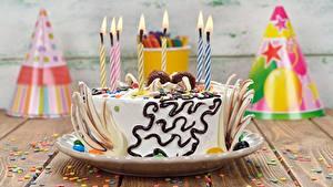 Fotos Torte Geburtstag Kerzen