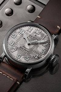 Wallpaper Clock Watch Zenith Pilot Type 20 Extra Special Silver
