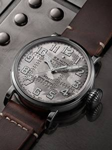 Desktop hintergrundbilder Uhr Armbanduhr Zenith Pilot Type 20 Extra Special Silver