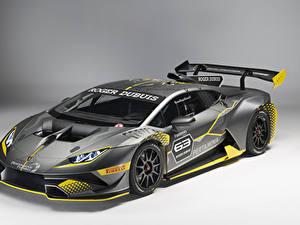 Fotos Lamborghini Fahrzeugtuning Grau